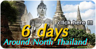 6 Days Around North Thailand Tour